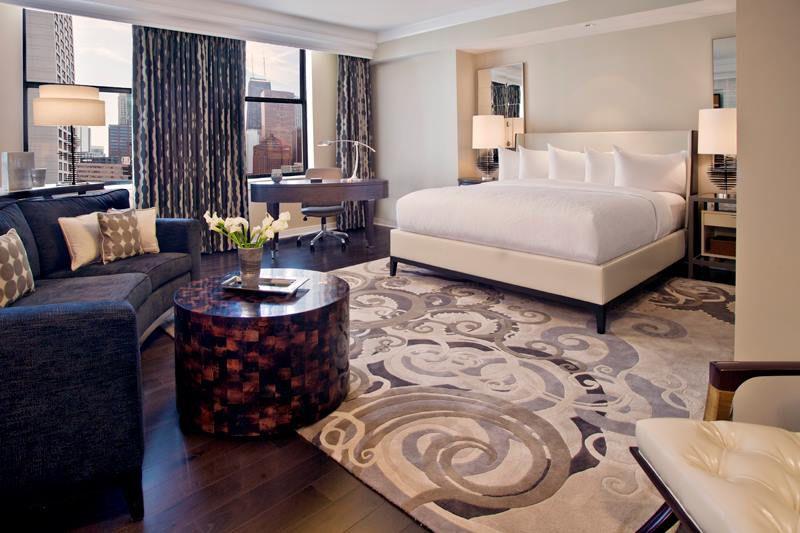 Room inside the Gwen Hotel