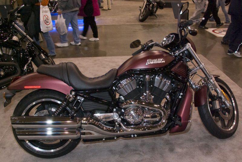 Harley V Rod.