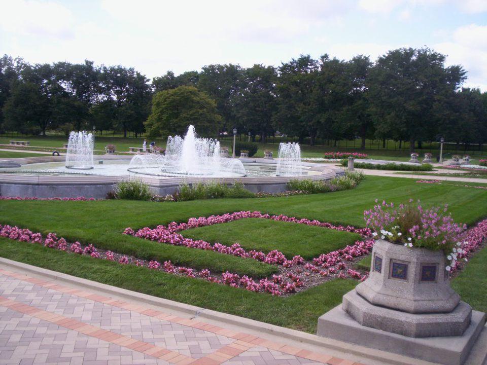 Garfield Park's Sunken Garden