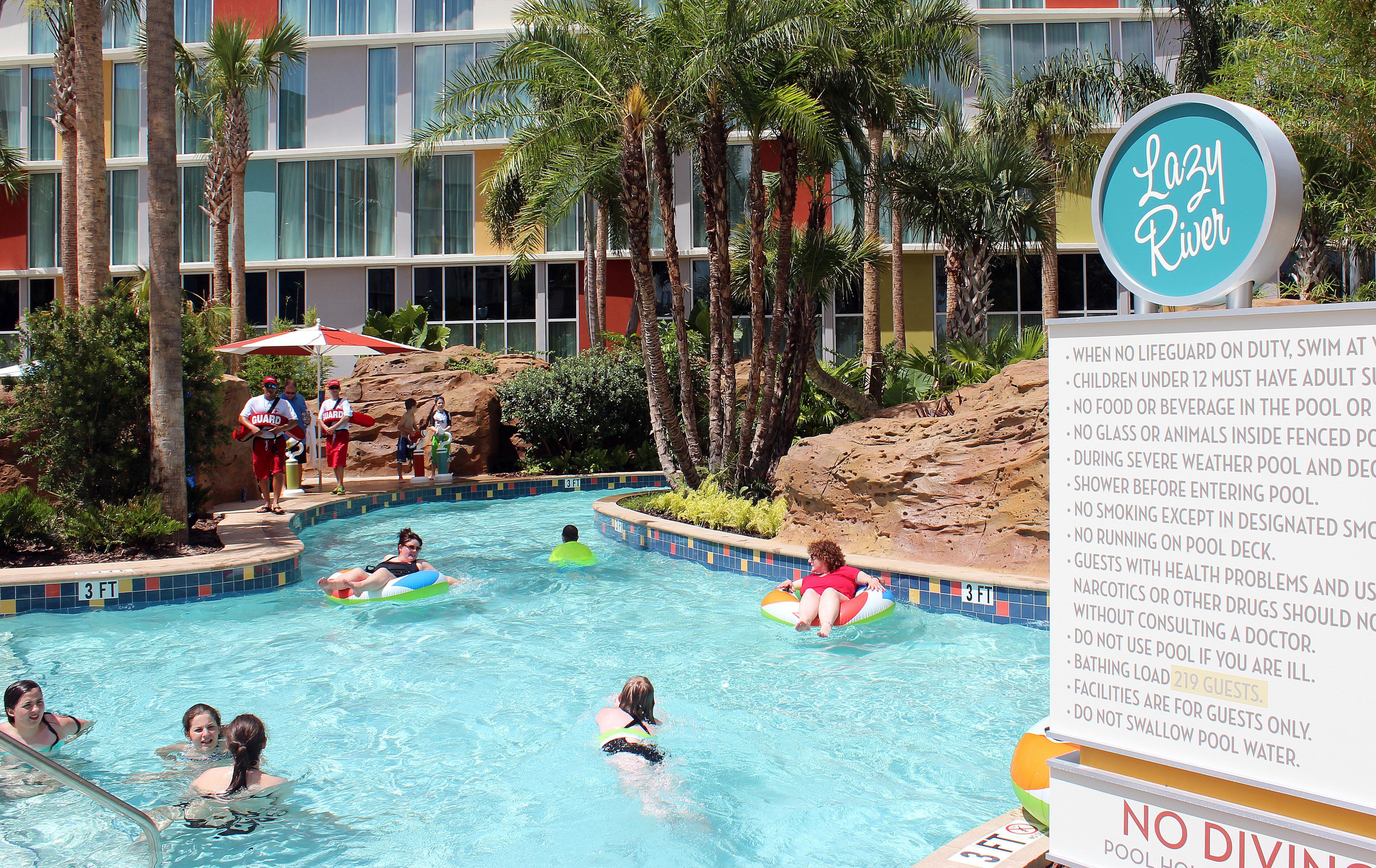 Cabana Bay Universal Orlando Lazy River