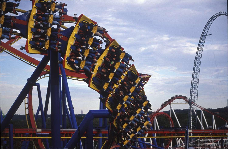 Superman-Ultimate Flight Coaster