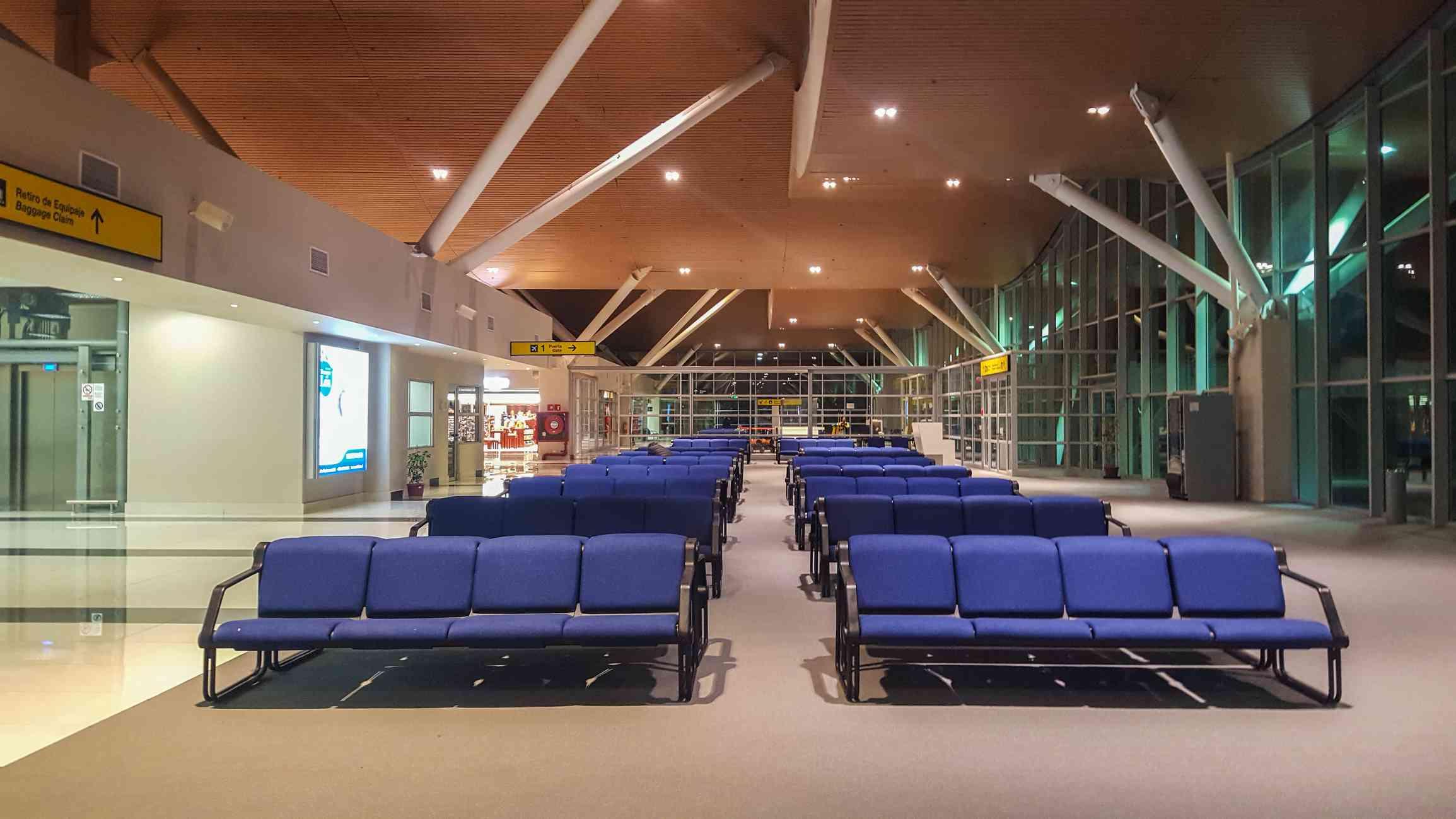 Calama Airport terminal