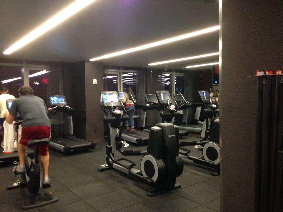 Hyatt Times Square Exercise Room