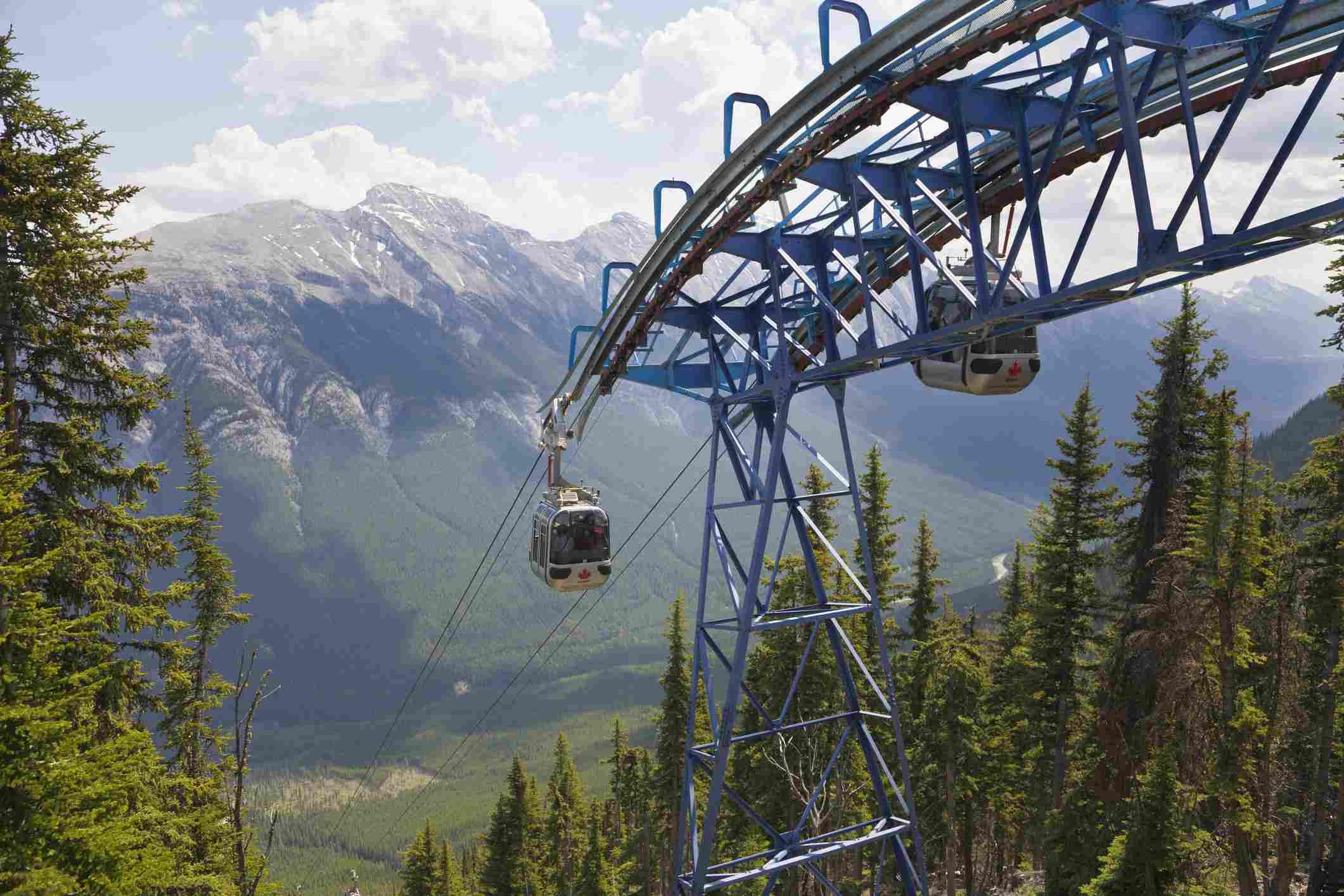 Gondola, Sulphur Mountain, Banff, Alberta, Canada