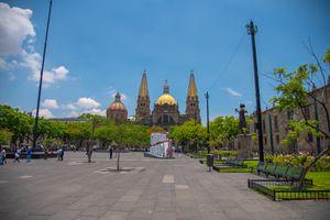 Historic downtown area of Guadlajara