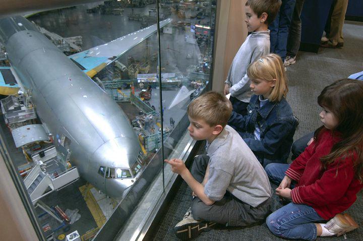 Boeing Factory Tour in Everett, WA