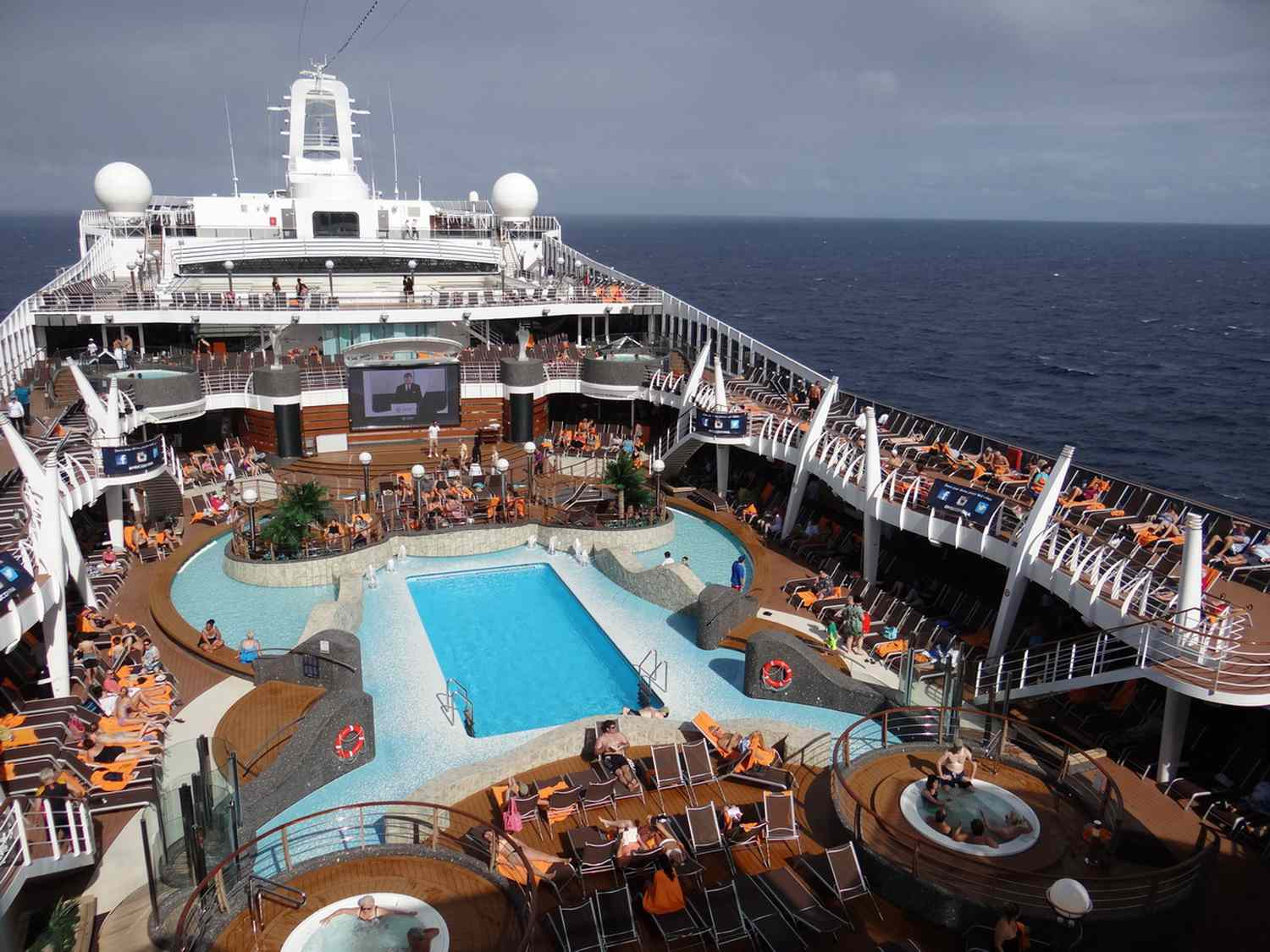 Enjoy The Exterior Decks On The Msc Divina Cruise Ship