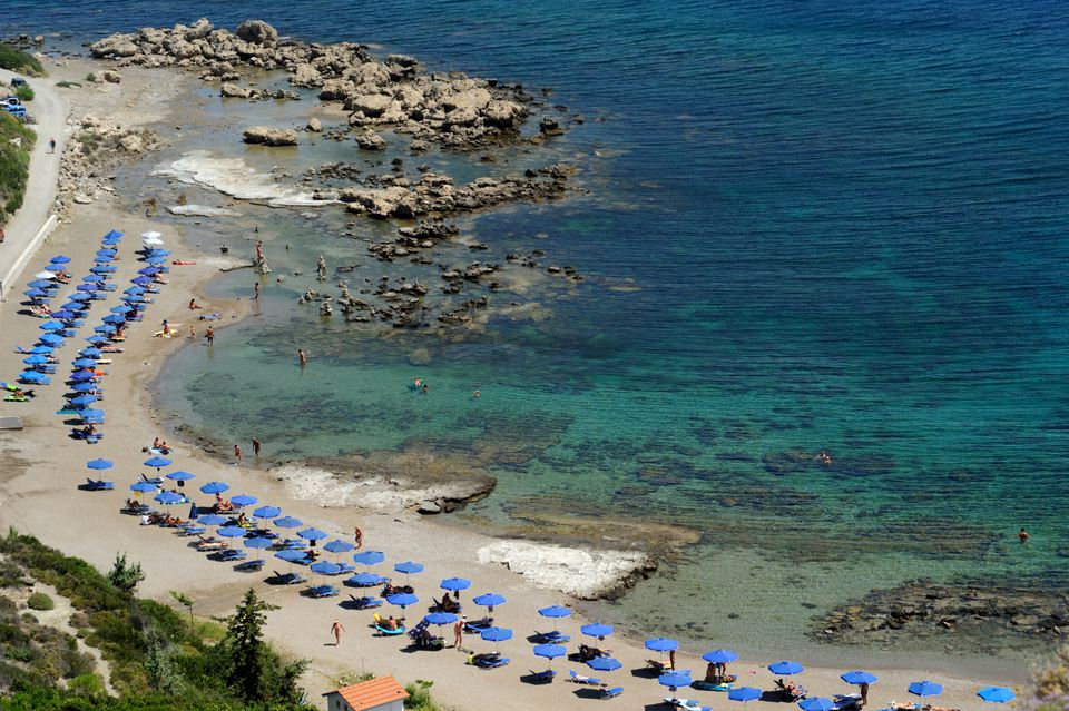 Rhodes nude beach