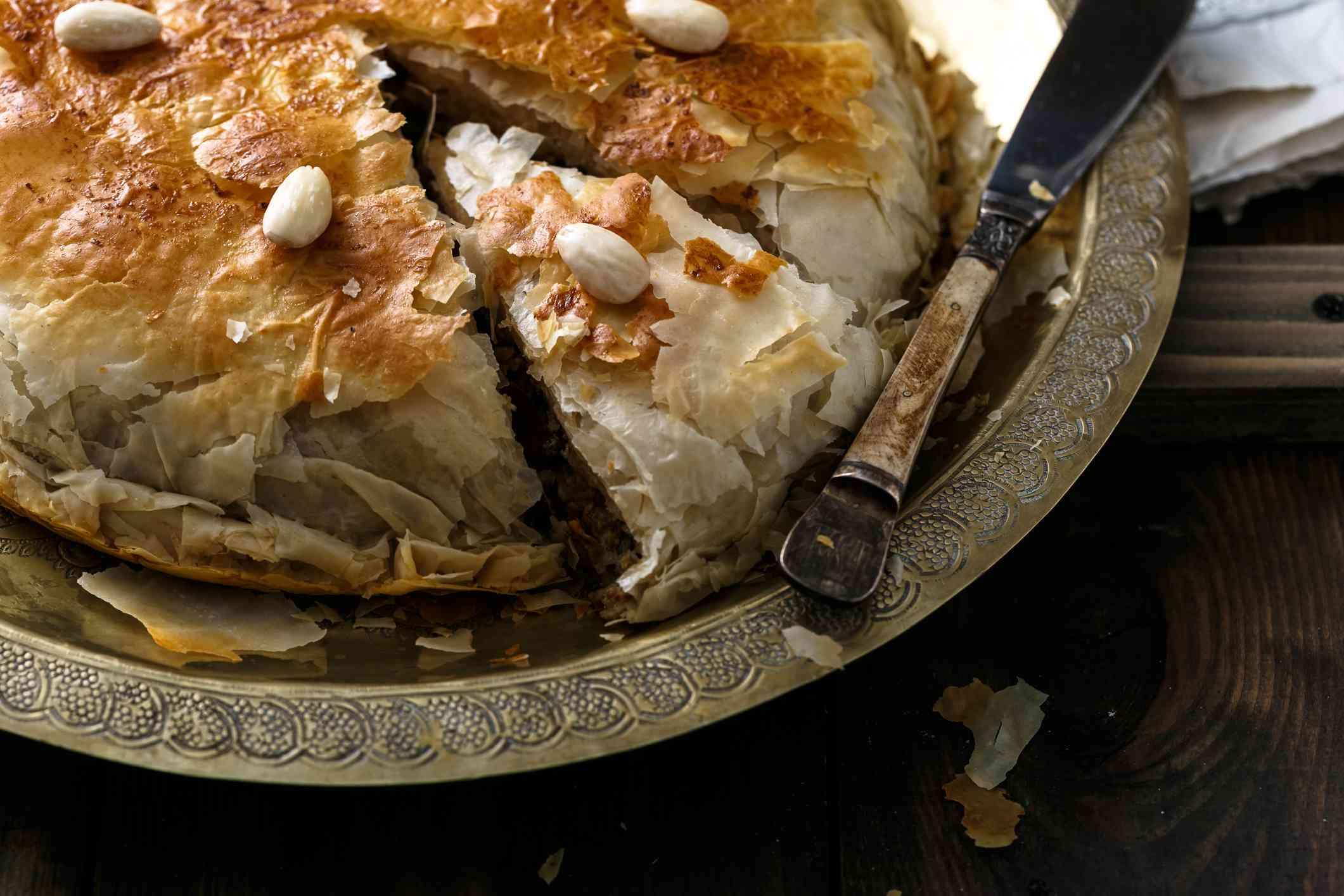 Pastilla pie, Morocco