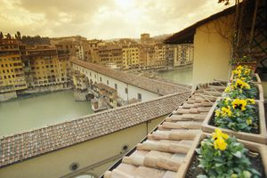 View of Ponte Vecchio From Hotel Hermitage
