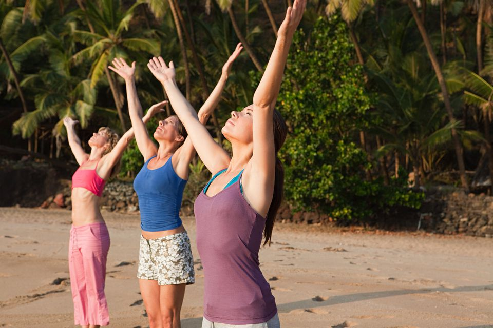 Yoga in Goa.
