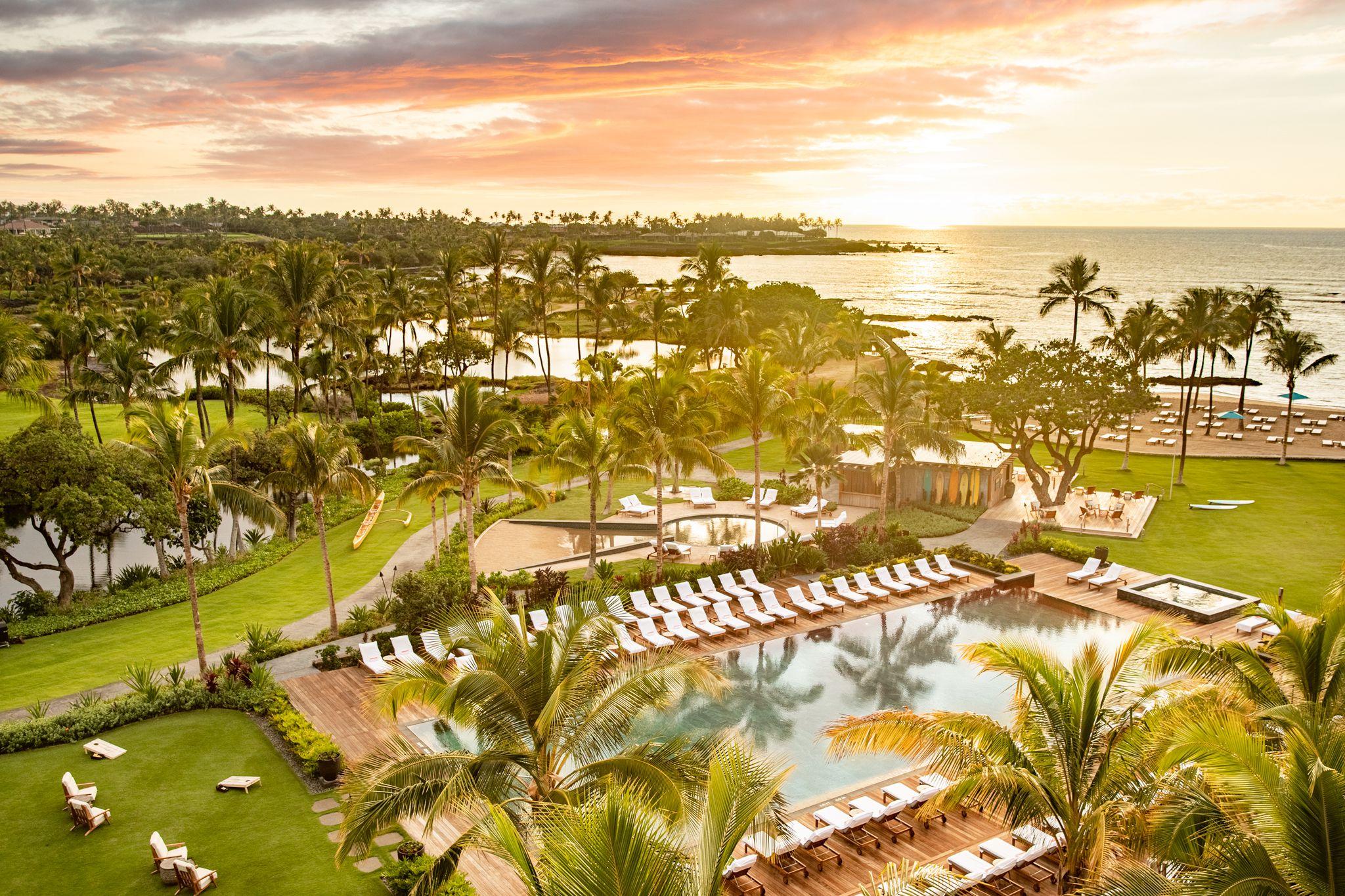 The Island of Hawai'i Gets a New Posh Resort