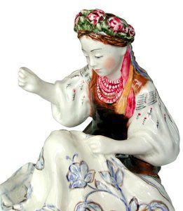 Ukrainian Embroideress