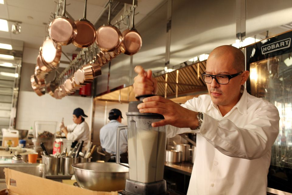 Chef César Ramirez en Brooklyn Fare