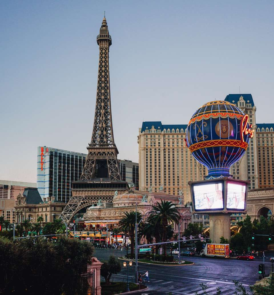 The Eiffel Tower at Paris Las Vegas