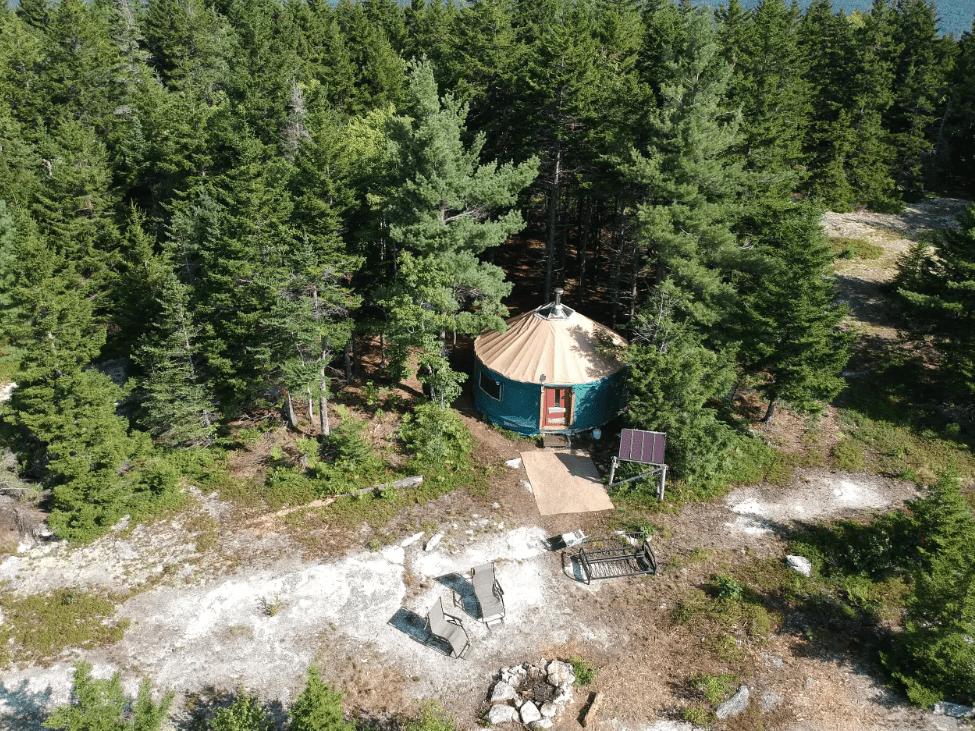 Orland Hike-in Yurt