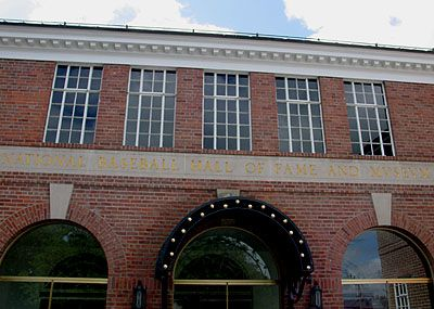 Baseball Hall Of Fame Cooperstown New York