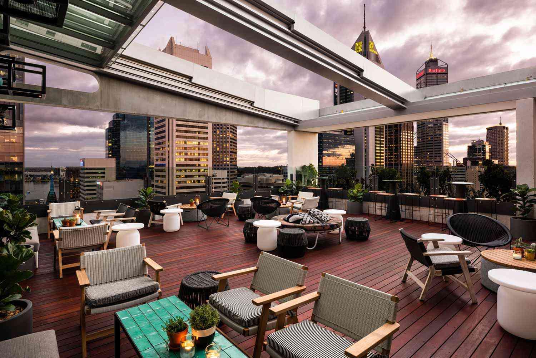 QT rooftop in Perth