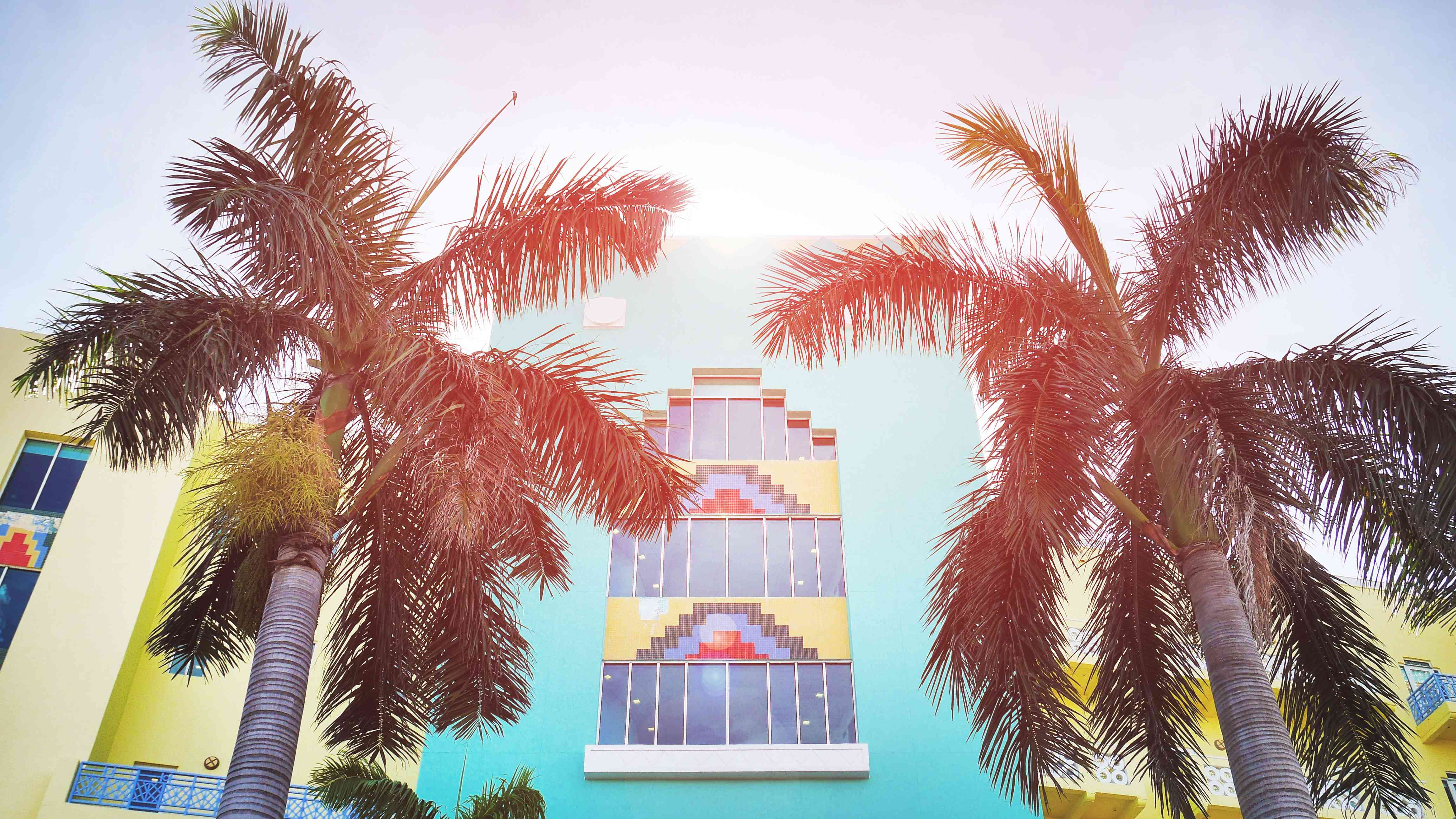 Art Deco building in South Beach