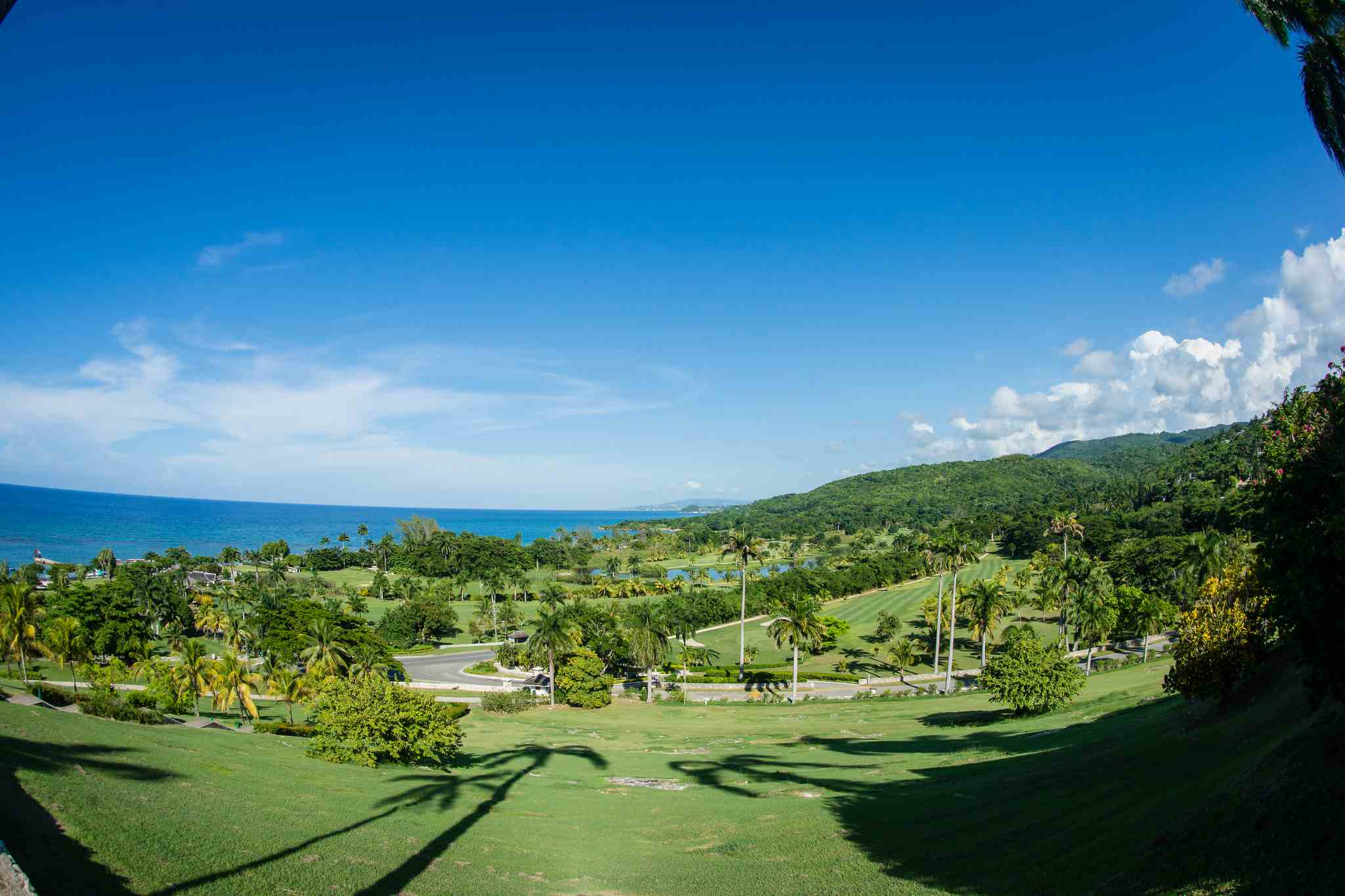 Golf course at The Tyrall Club at Montego Bay in Jamaica.
