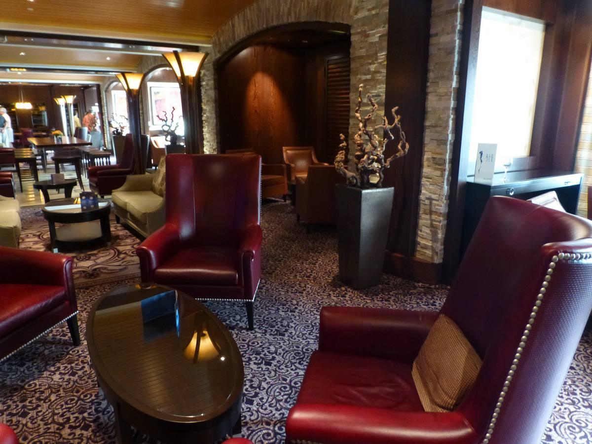 The Cellar Master Lounge en el crucero Celebrity Reflection