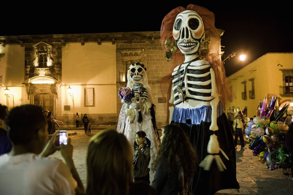 The Day Of The Dead In Mexico