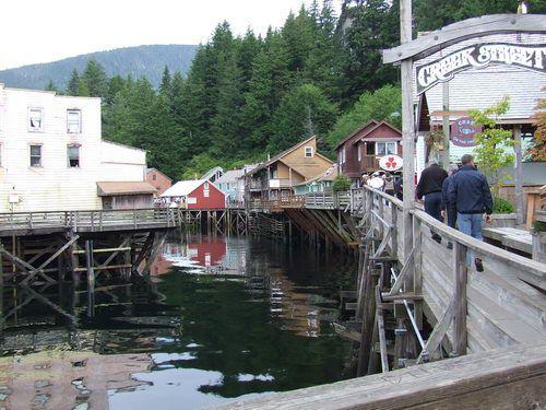 Creek Street in Ketchikan, Alaska