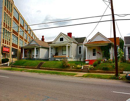 Casas en el barrio de Germantown de Louisville