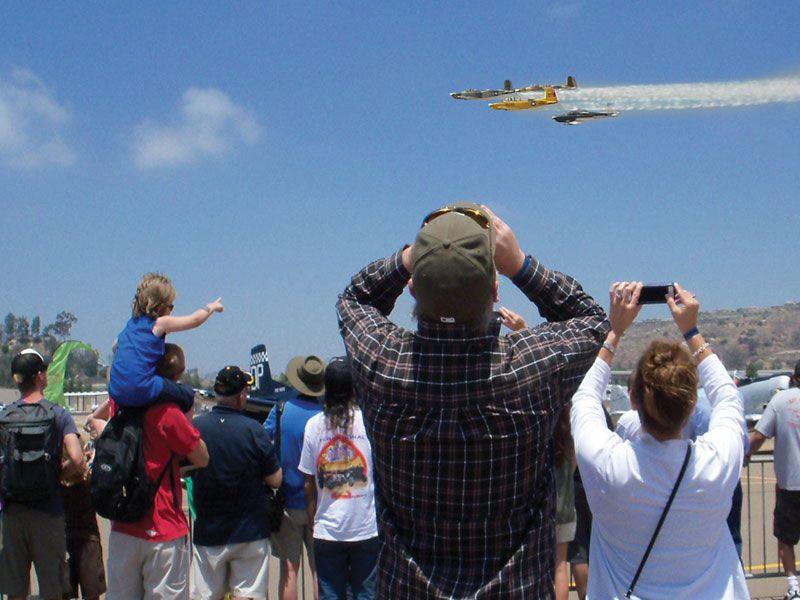 Airshow at Gillespie Field