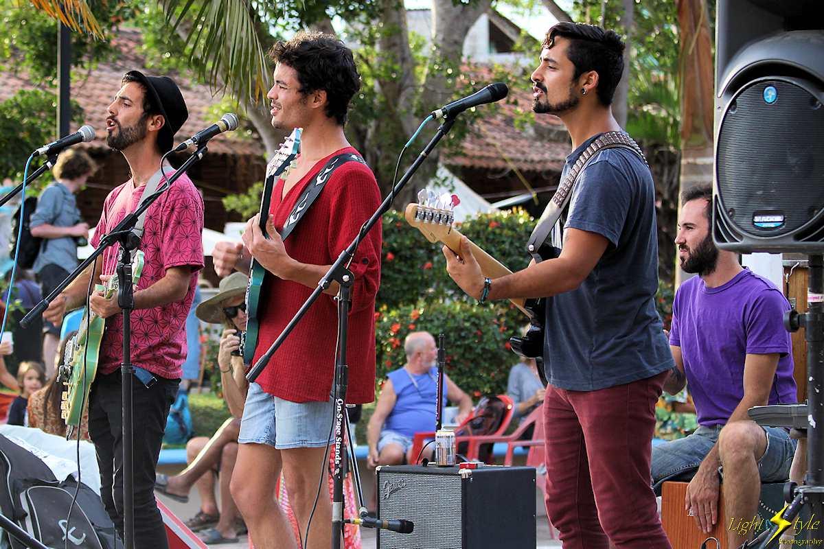 Las Naves-Valentin Gonzalez perform at San Pancho Music Fest
