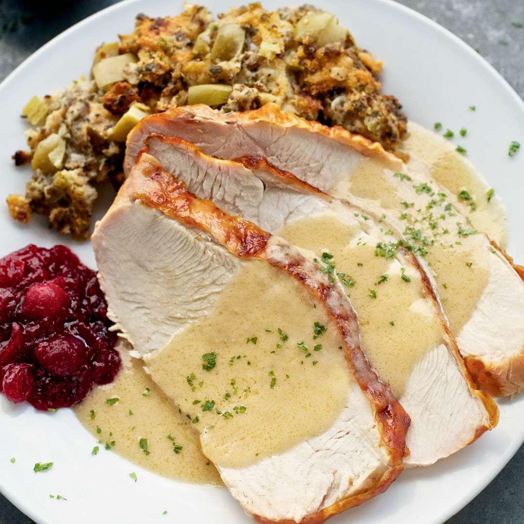 Thanksgiving at Ruth's Chris Steak House