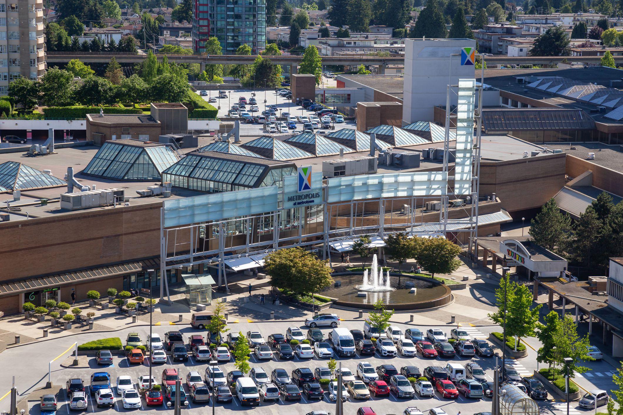 Metropolis at Metrotown shopping center, Barnaby, British Columbia