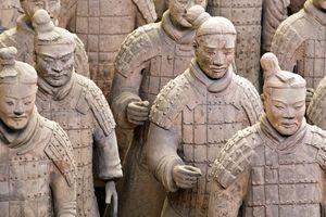 Terracotta Army Warriors, Xian, China