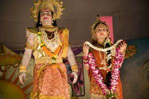 Ram Lila actors.