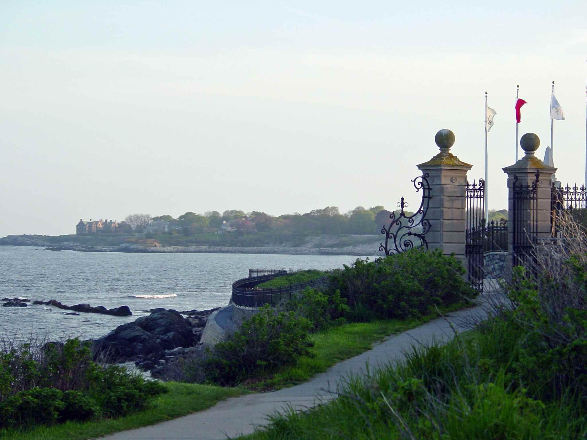 Newport Cliff Walk Gate