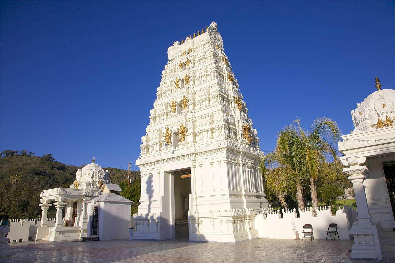 Hindu Temple in Malibu Caifornia