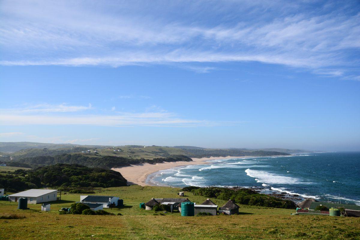 A beach in Transkei