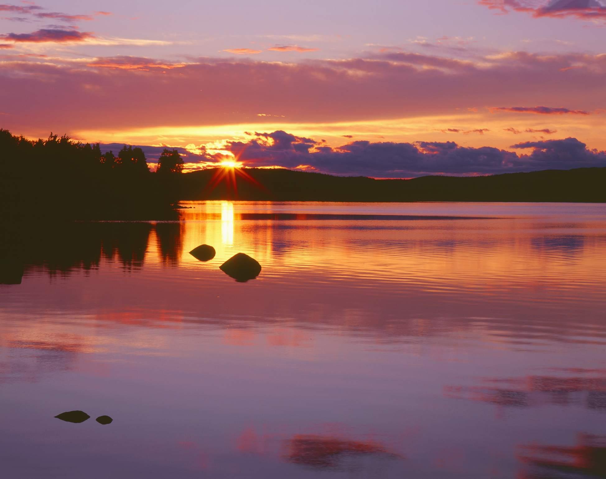 Sunset at Alexander Bay