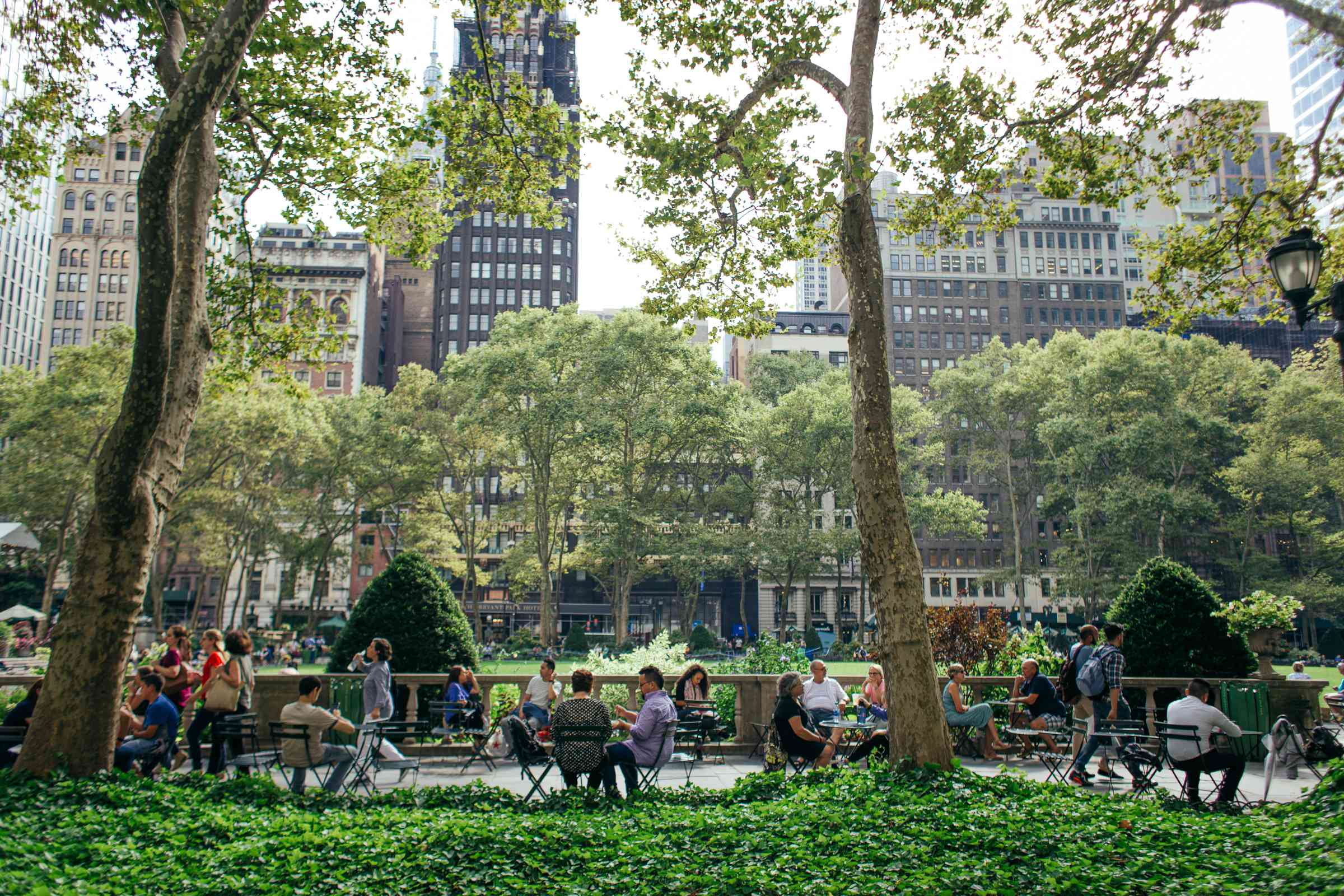 Bryant Park en NYC