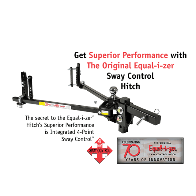 Equal-i-zer trailer hitch