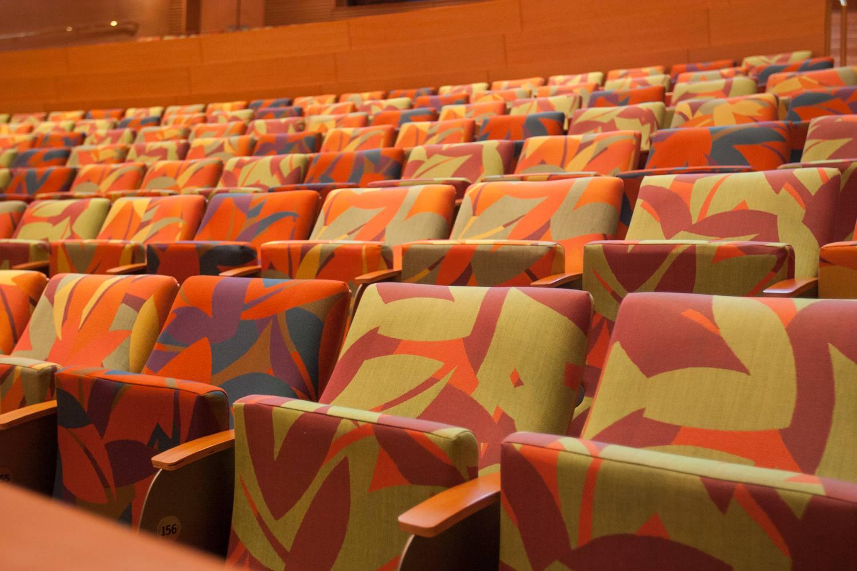 Auditorium Seats at the Disney Concert Hall