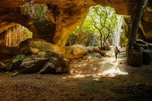 Naida Caves, Diu.