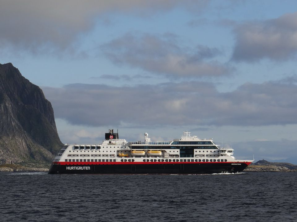 Hurtigruten ms Midnatsol Norwegian Coastal Liner