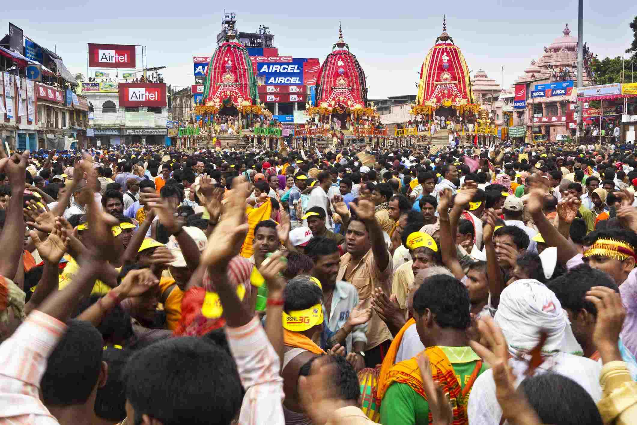 Rath Yatra, Puri.