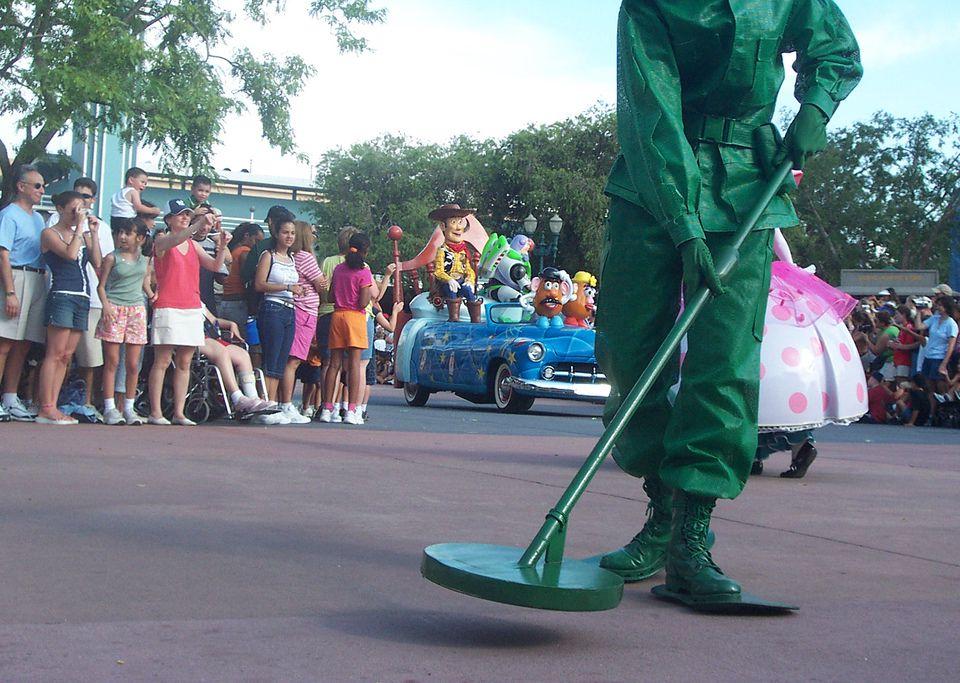 Disney World – MGM – Car Parade