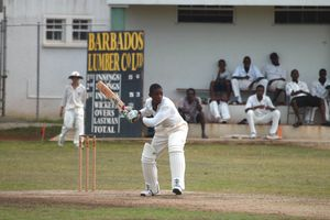 Cricket match in Barbados