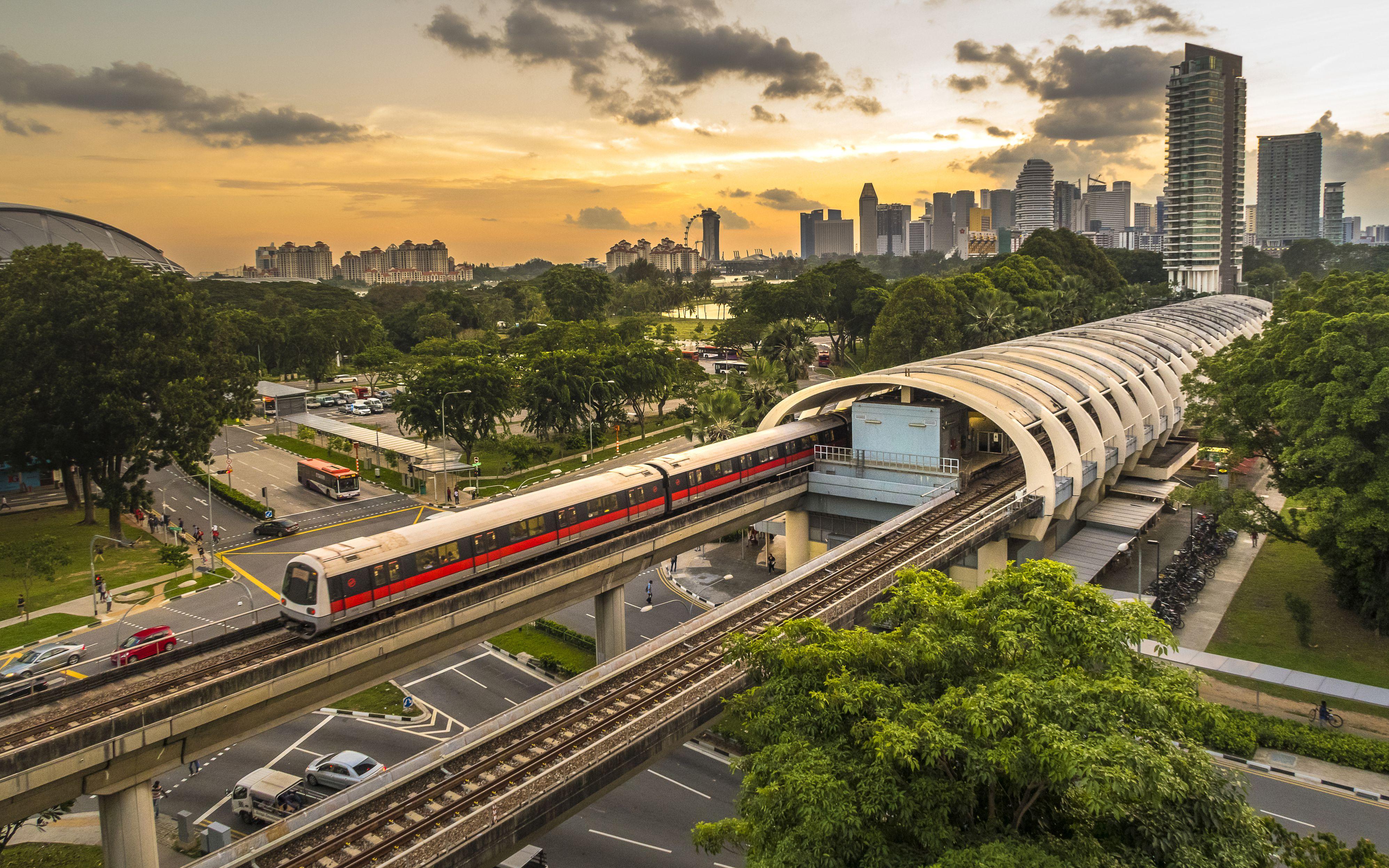 Singapore Mass Rapid Transit (MRT) - Kallang station