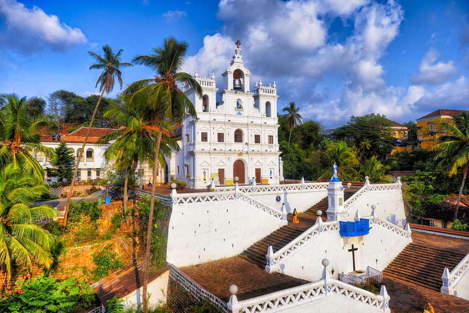 Panjim Church, Goa.