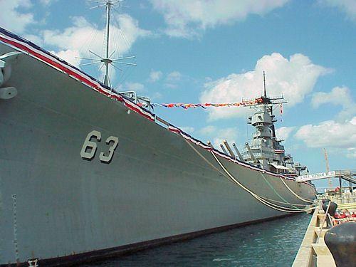 Battleship Missouri (BB63), Ford Island, Pearl Harbor, Hawaii