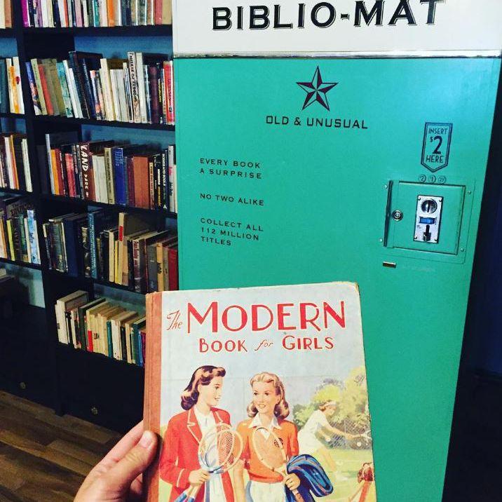 The Biblio-Mat at Monkey's Paw